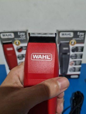 Máquina de cortar cabelo wahl easy cut barbeiro salão curso - Foto 6