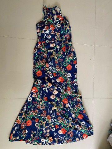Vestido longo floral - Foto 2