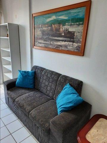 Flat na praia para temporada, quarto e sala, em Jaboatão, região Metropolitana de Recife - Foto 12
