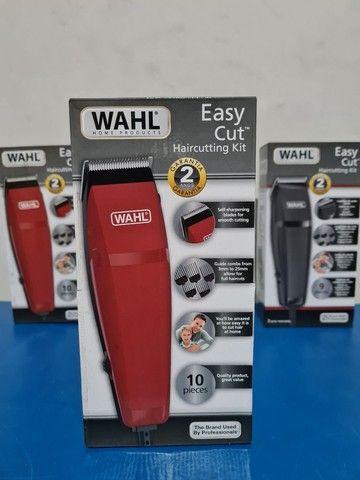 Máquina de cortar cabelo wahl easy cut barbeiro salão curso - Foto 4