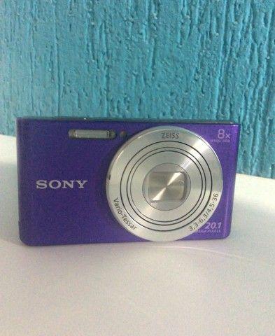 Câmera Sony-shot DSC w830