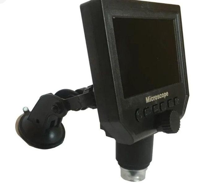 Microscópio digital com monitor LCD Full HD 600 x - Foto 4