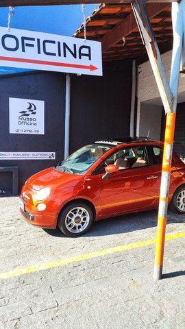 Fiat 500 1.4 8v Cult C/ Teto - Foto 9