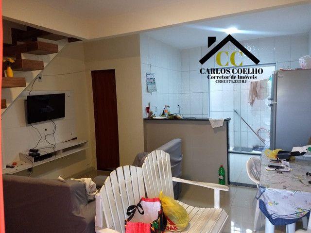 W147 Linda Casa Triplex no Condomínio Verão Vermelho I em Unamar - Foto 2