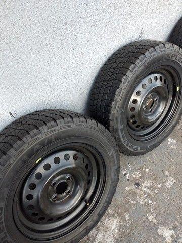 Pneus com rodas aro 16 - Foto 2