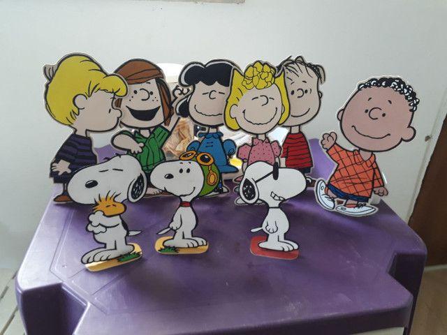 Kit Decoração Festa Turma do Snoopy