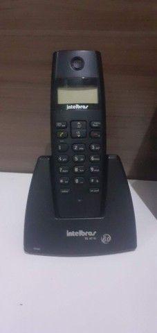 Telefone digital sem fio com Secretária eletrônica digital