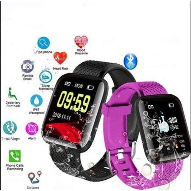 Promoção Dia Dos Pais Lindos Relógios Digitais Smartwatch Vários Modelos - Foto 3