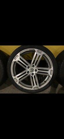 Rodas aro 19 com pneus  - Foto 4