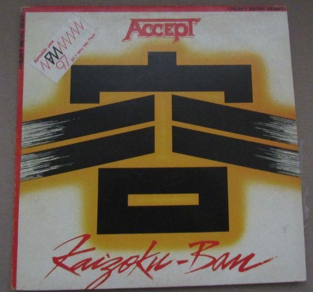 Oferta!! Lp Vinil Accept- Kaizoku Ban-1985
