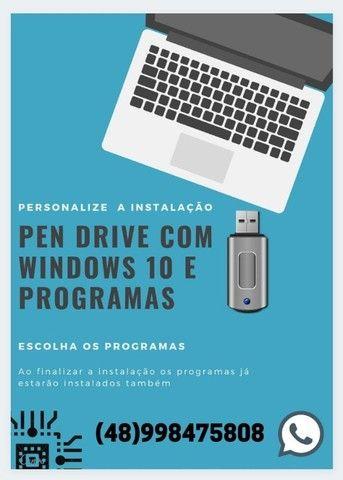 Kit Formatação Windows 7 e 10 com programas instalados