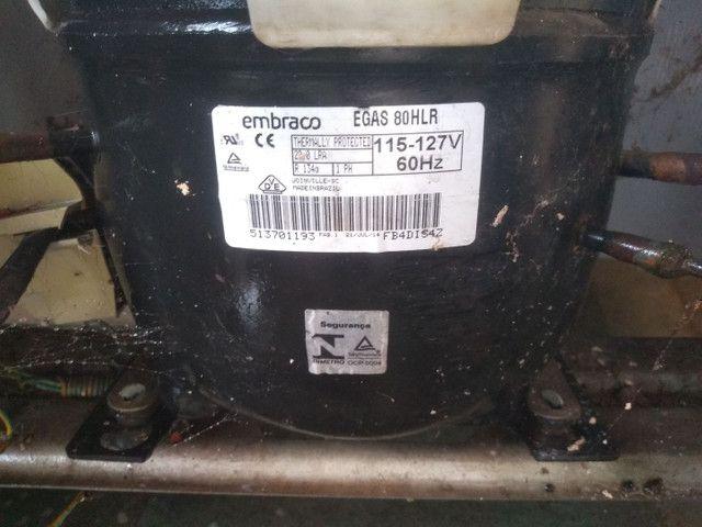 Motor de geladeira embraco 127 v .