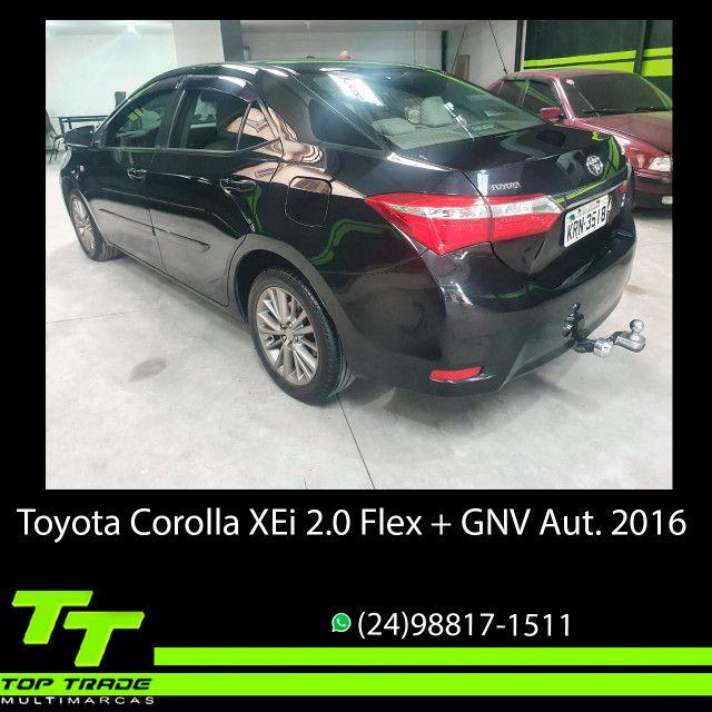 Toyota Corolla XEi 2.0 Flex + GNV Automático 2016 - Foto 4