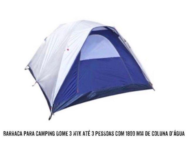 BARRACA P CAMPING P 3 PESSOAS C 1800MM DE COLUNA D?GUA