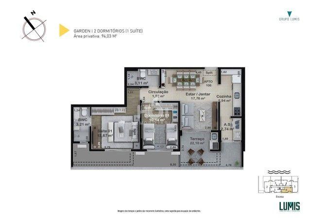 FLORIANóPOLIS - Apartamento Padrão - Estreito - Foto 15