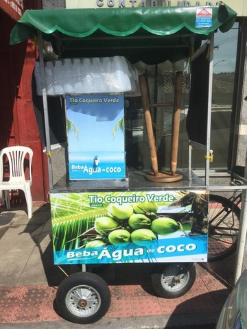 Carrinho água de coco (seminovo)
