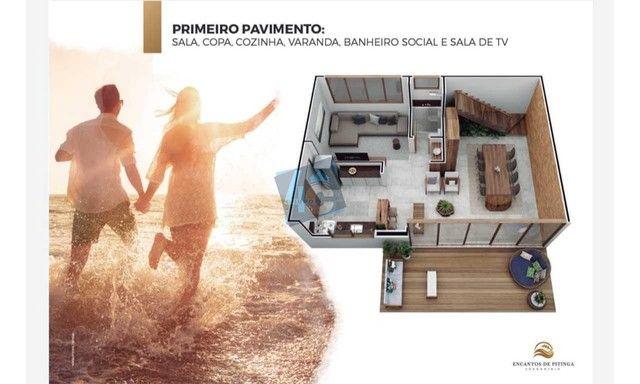 Casa Duplex com 3 dormitórios à venda, 145 m² por R$ 900.000 - Praia de Pitinga - Porto Se - Foto 14
