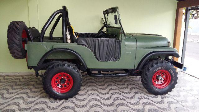 Jeep willys 4x4 ano 1957