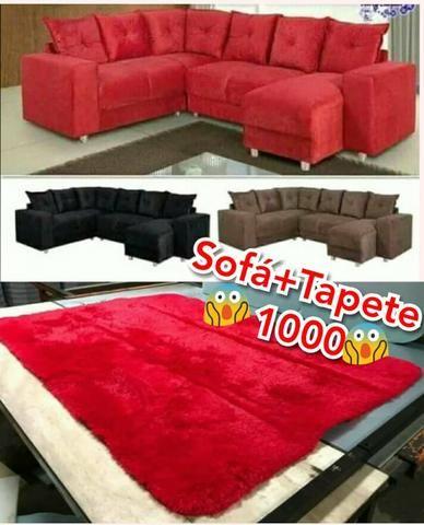 Sofa + tapete