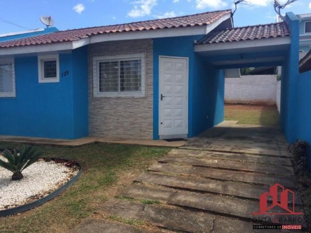 Casa à venda com 2 dormitórios em Eucaliptos, Fazenda rio grande cod:CA00020
