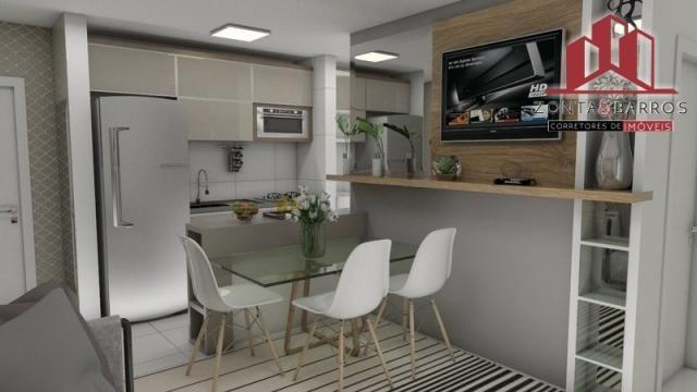 Apartamento à venda com 2 dormitórios em Estados, Fazenda rio grande cod:AP00003 - Foto 9