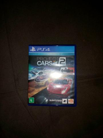 Project Cars 2 semi novo ps4