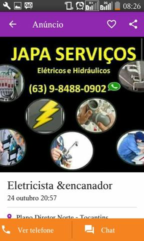 Eletricista & encanador 992450680