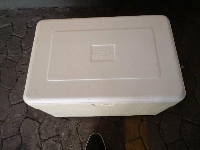 Caixa de isopor térmica