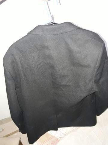 Bleizer preto bleizer azul um colete e duas blusa social