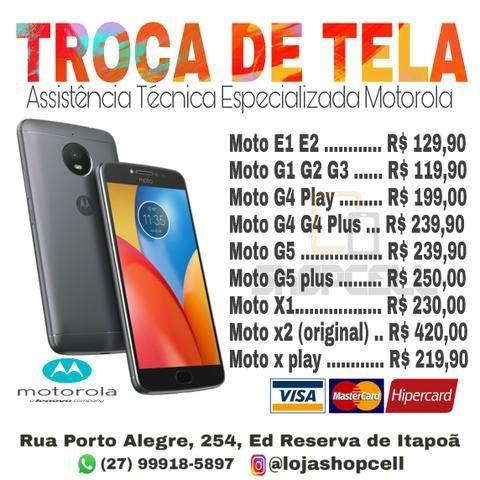 Display Completo- Moto G / Moto X