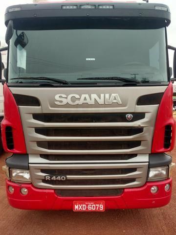 Scania R 440 euro 5 ano 2012 com bitrem