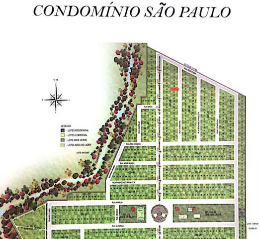 Vendo terreno Condomínio Residencial São Paulo