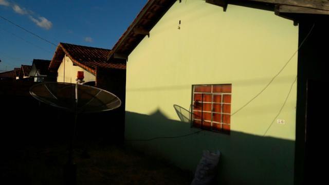 Casa triângulo Verde