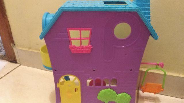 Casa da Polly com balanço