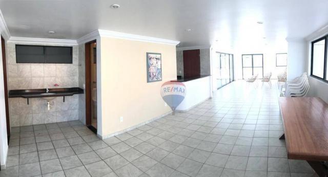 Apartamento com 1 dormitório à venda, 41 m² por r$ 230.000,00 - ponta negra - natal/rn - Foto 8