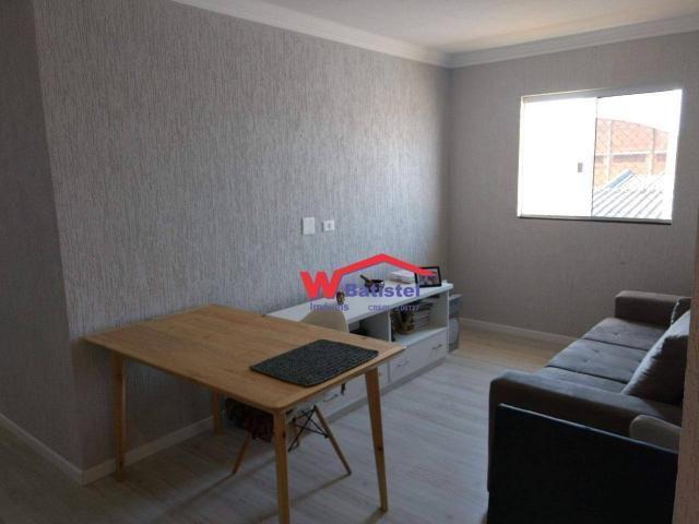 Apartamento com 2 dormitórios à venda, 57 m² por r$ 250.000 - rua vinte e cinco de dezembr - Foto 5
