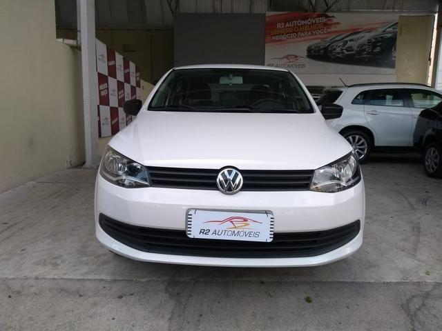 Volkswagen 2015/2015 Voyage 1.6 Flex trendline branco completo - Foto 2