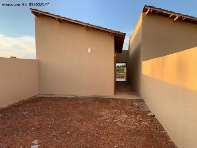Casa para Venda em Várzea Grande, Nova Fronteira, 2 dormitórios, 1 banheiro, 2 vagas - Foto 11