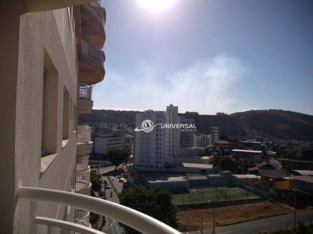 Apartamento com 2 dormitórios para alugar, 90 m² por r$ 1.600,00/mês - estrela sul - juiz  - Foto 13
