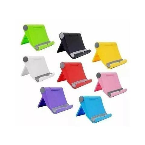 Suporte de Mesa Universal S059 Celular Tablet Smartphone Sem Mãos - Foto 2