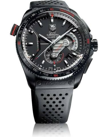 282b2c6e043 TAG Heur - Grand Carrera Calibre 36 - Black Matte - Bijouterias ...