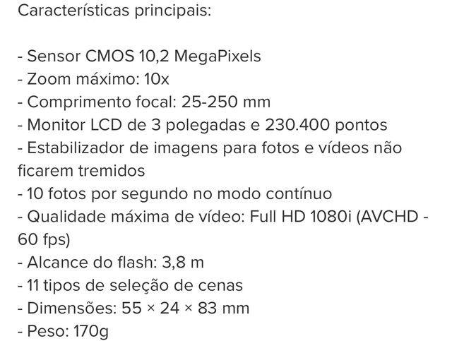 Câmera Digital Sony Cyber-shot DSC-HX5 - Foto 6