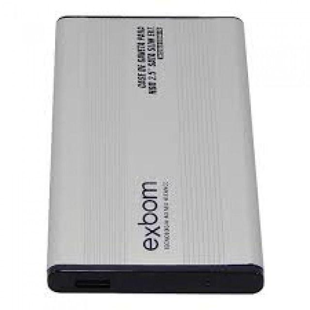 "Case hd externo notebook sata 2.5"" usb slim - exbom - cghd-10"