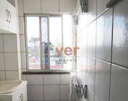 Apartamento à venda, 56 m² por R$ 259.000,00 - Alagadiço Novo - Fortaleza/CE - Foto 3