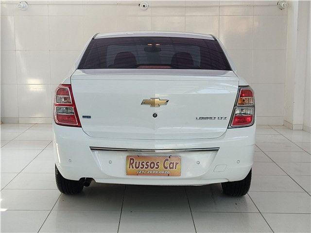 Chevrolet Cobalt 1.8 LTZ 8V Flex Automatico 2013 - Entrada a partir de ZERO - Foto 5