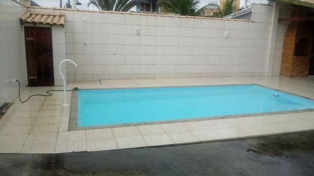 Mm Casa Lindíssima com piscina e área gourmet, na quadra da praia! - Foto 5