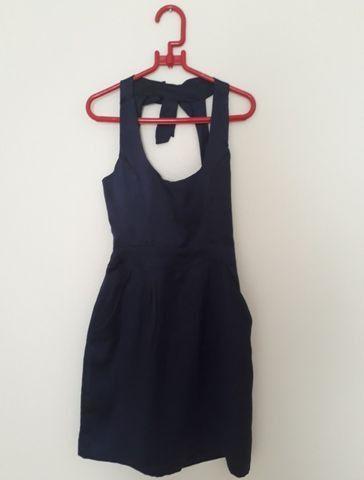 Vestido Liritty Original em Cetim - Tamanho G - Como Novo