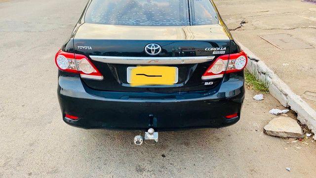 Corolla 2011/2012 cor preto perolizado