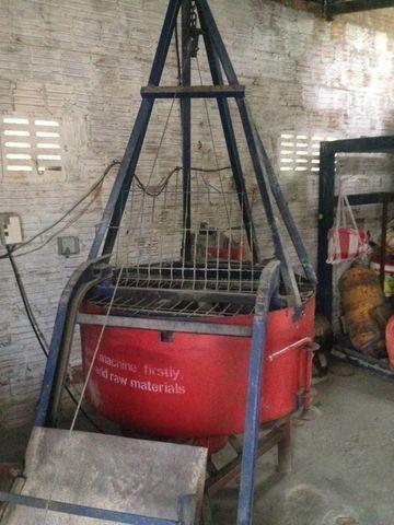 Misturador cimento 400 litro