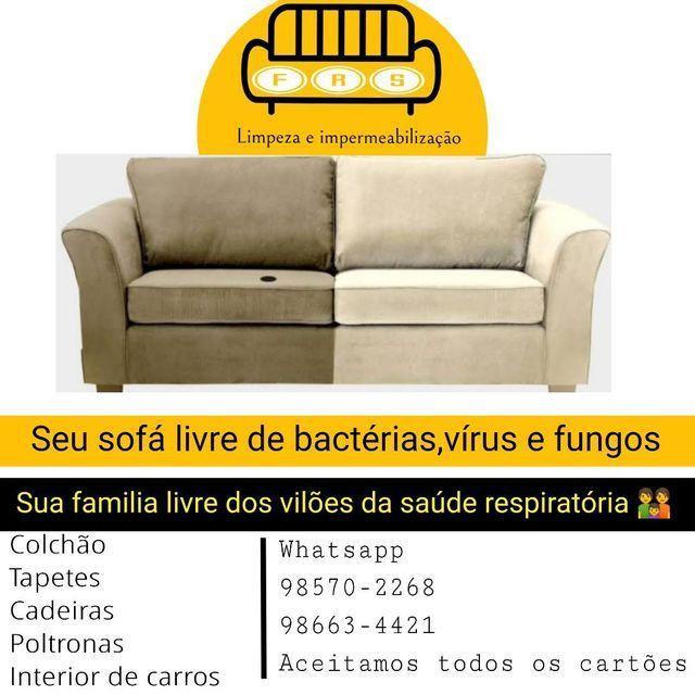 Limpeza de sofás a seco - Foto 3
